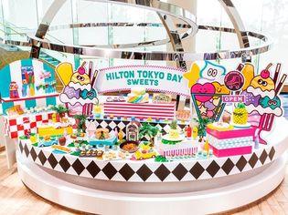 ヒルトン東京ベイ サマーデザートブッフェ7/6(金)より開催SNS映え必至!ヒミツの仕掛けが可愛い「カラフルマジックボックス」ケーキなど史上最多40種類のデザート&軽食メニューが登場