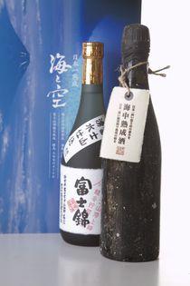 発売3日で完売! 富士山 頂(いただき)×駿河湾海底で熟成した日本酒  今年も200セット限定で7月14日販売開始!