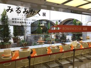 桜美林大学の学生の実体験によるアート展        小田急百貨店町田店「みるみかく展」開催