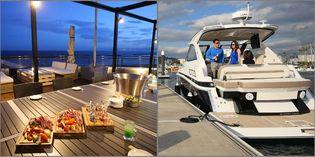 """関西初!海から船で行ける""""海のドライブスルー型BBQレストラン"""" 8月4日(土)より「TERRACE Bar & BBQ」をオープン!"""