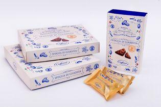 2018年人気おみやげランキング上位にランクイン! イタリア老舗チョコレートブランド「カファレル」の 「東京ジャンドゥーヤチョコパイ」販売累計370万個突破!
