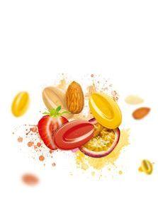 """100%天然由来の原材料!本物のフルーツを掛け合わせた 世界初""""フルーツ・クーベルチュール""""  フレッシュな味わいと鮮やかな色、 『インスピレーション』を9月3日より販売開始"""