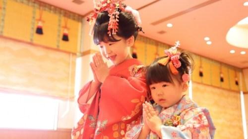 【川越プリンスホテル】記念写真、神殿での御祈祷をプライベートな空間で「七五三お祝いプラン」を販売