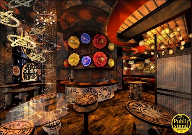 ビジネス層対応のスタンディングバー パブスタ史上初のcafe & BARの新店舗が誕生