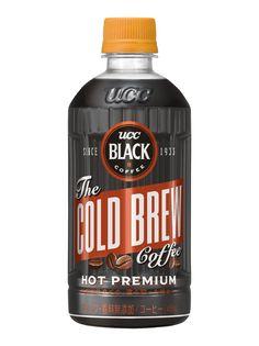 """水出し抽出""""COLD BREW""""が生み出す、 HOTに合う澄み切った味わい 『UCC BLACK COLD BREW HOT PREMIUM PET450ml』 10月1日(月)からコンビニエンスストア限定で新発売!  =UCC上島珈琲株式会社="""