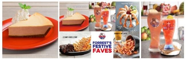 アメリカン・シーフード・レストラン「ババ・ガンプ・シュリンプ」秋のスペシャルメニューキャンペーン『Forrest's Festive Faves』