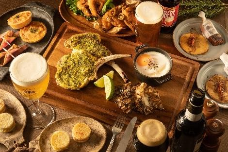 BLUE POINT が、ビールとペアリング「Craft Beer Dinner」を発売シカゴ発人気クラフトビール「グースアイランド」の日本初上陸ビールも~10 月 15 日(月)より期間限定で発売~