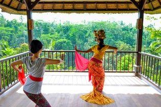 星のやバリ(インドネシア・バリ島ウブド) バリ舞踊を体験し、観て、綺麗になる、1日ウェルネスプログラム 「バリ舞踊美人滞在」開催 期間:2018年11月1日~2019年5月31日