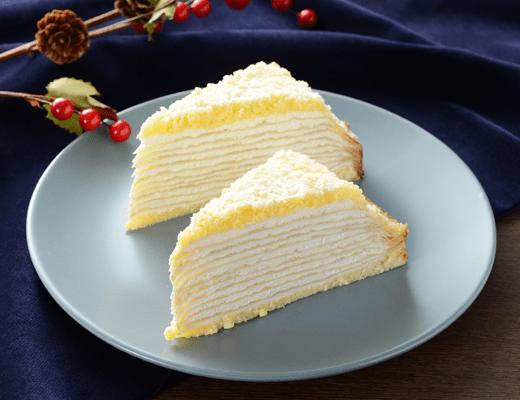 ローソンから『チーズクリームのミルクレープ』10月23日(火)新発売。kiriクリームチーズを使用