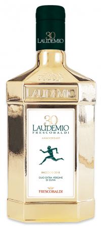 一番搾りのオリーブオイル新入荷!「フレスコバルディ・ラウデミオ」1年間限定の30周年記念ゴールドボトルで登場