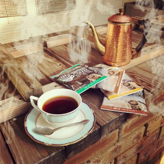 """""""飲む温泉""""別府温泉発「地獄蒸しコーヒー」有楽町おおいたアンテナショップでモーニングコーヒーフェア開催"""