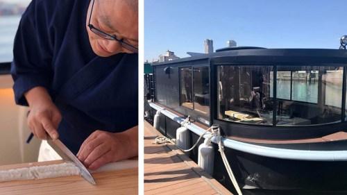 船上で寿司を味わう。大阪北新地の名店「鮨 さえ㐂」が手掛ける鮨船『楼船 さえ㐂(ろうせん さえき)』オープン