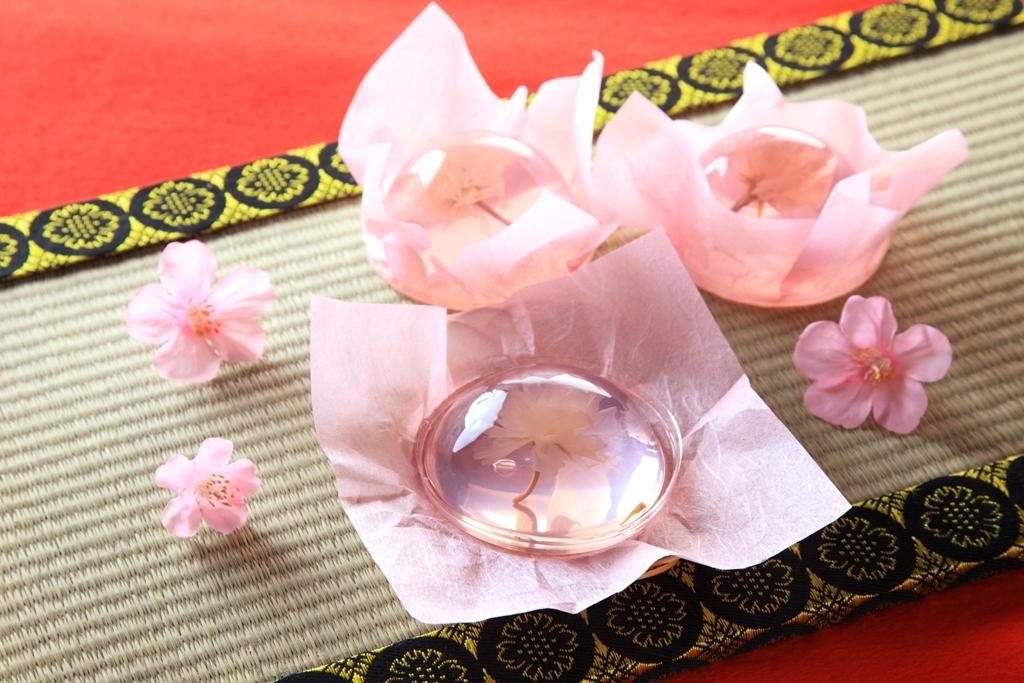 春季限定!桜リキュールで春色の可憐な国産桜花入りゼリー 桜咲く さくらゼリー(R)を1月12日に榮太楼各店舗で販売開始