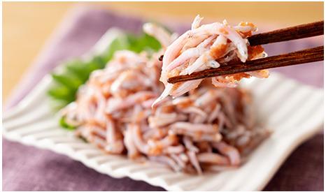 和歌山名産がコラボ。湯浅の釜揚げしらすとみなべ町の梅を使った「紀州釜揚げしらす梅肉和え」を発売開始!