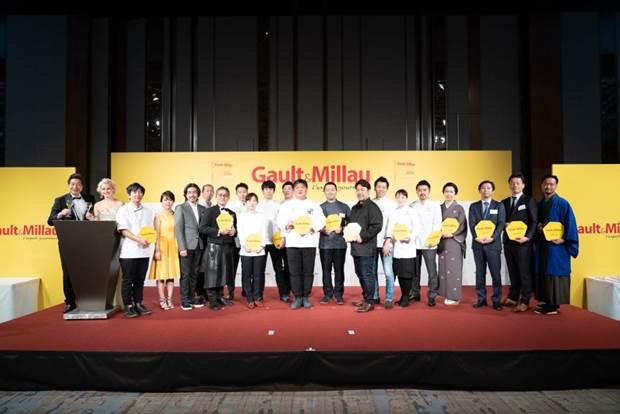 「新しい才能の発見」や「日本の地域性の尊重」に特長を持つガイドブック『ゴ・エ・ミヨ 2019』出版記念 授賞式を開催