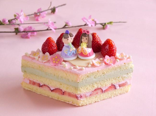 ~お子様の成長を祝い、幸せを願う~ひなまつりケーキ