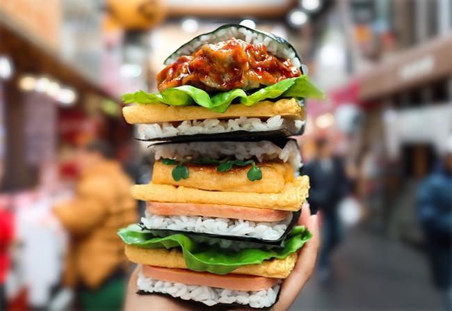 「おにぎり革命」を大阪から巻き起こす! 日本とアメリカ文化のハイブリッド系「おにぎりバーガー」の本店が、2月15日に大阪・黒門市場にオープン!