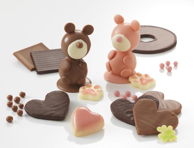 【リーガロイヤルホテル(大阪)】動物たちをモチーフに、心を掴むかわいらしいチョコレートがラインアップ。「ショコラブティック レクラ」ホワイトデー商品