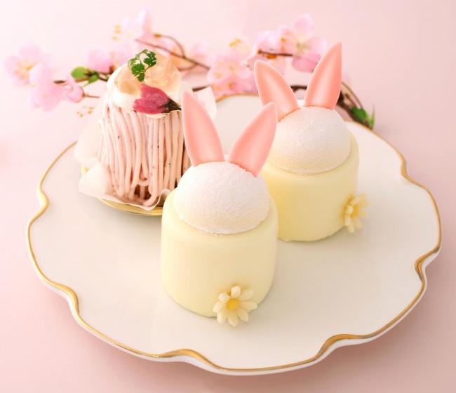 【アンテノール】 春限定スイーツ! 春うさぎ、さくら、苺でお届けする今だけのおいしさ。