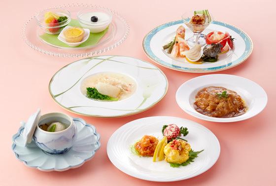 京成ホテルミラマーレ、中国料理 景山「フカヒレフェア」3月1日~3月31日開催。フカヒレや四川ダックがコース料理に登場