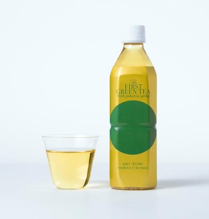 宮崎県産・春摘み一番茶を使用し、新潟県の名峰八海山の湧き水で仕立てたオリジナル緑茶飲料「The FIRST GREEN TEA fresh picked in spring」