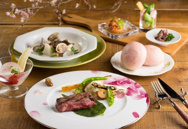 Dining & Bar LAVAROCK 神谷町 春の特別ディナーコース「Blooming(ブルーミング)」を発売