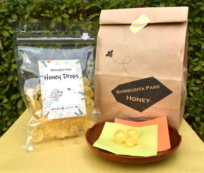 公園産のはちみつを使った「Honey Drops~新杉田公園のはちみつ飴~」新発売!(横浜市 新杉田公園)