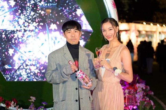3月15日(金)より4月14日(日)まで東京ミッドタウンにて展開される「CHANDON Blossom Lounge」オープニングイベントを3月14日(木)に開催