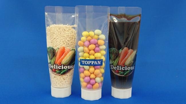 「チューブなパウチのイメージ」 © Toppan Printing Co., Ltd.