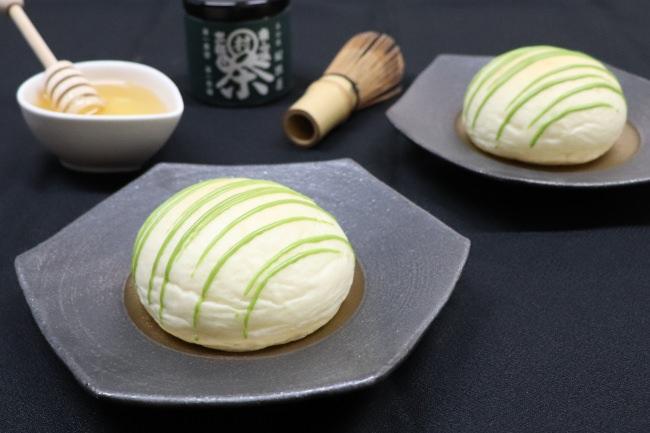 クリームパン専門店キンイロに新緑の季節のクリームパン登場!蜂蜜と京都府産抹茶を使ったkyo・maccha 京抹茶