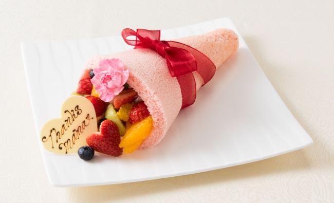 「フルーツブーケ」お母さんに感謝の気持ちを込めてプレゼント #母の日ケーキ