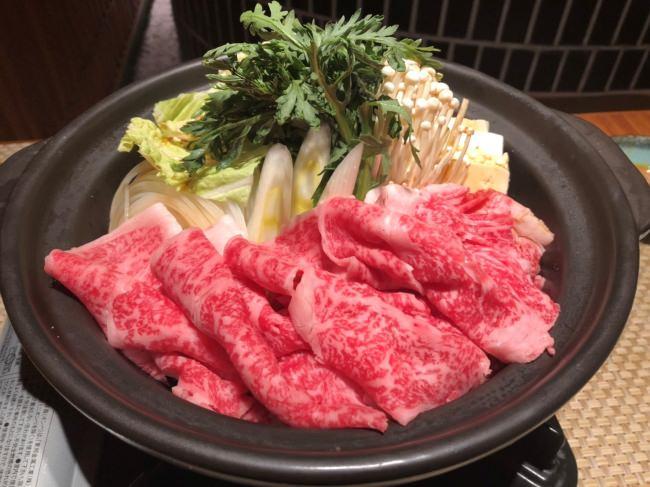 とろける和牛のすき焼きがなんと1人前 2,980円!!