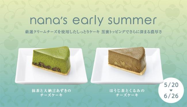 2種のチーズケーキ