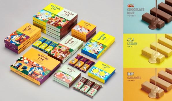【東京土産】チョコミントやレモン、冷やしてCOOLに楽しむ!大人のウエハースバー『WAFERS LAB(ウエハースラボ)』新発売
