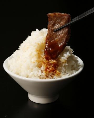 こだわりの「米」と「肉」