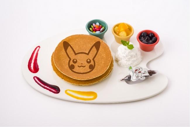 ドーブルのお絵かきパンケーキ 1,490円