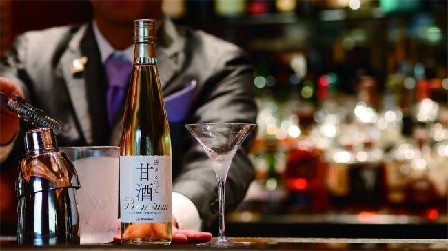 「透きとおった甘酒 premium」を使用したカクテル4種2019年6月1日(土)より1年間限定発売