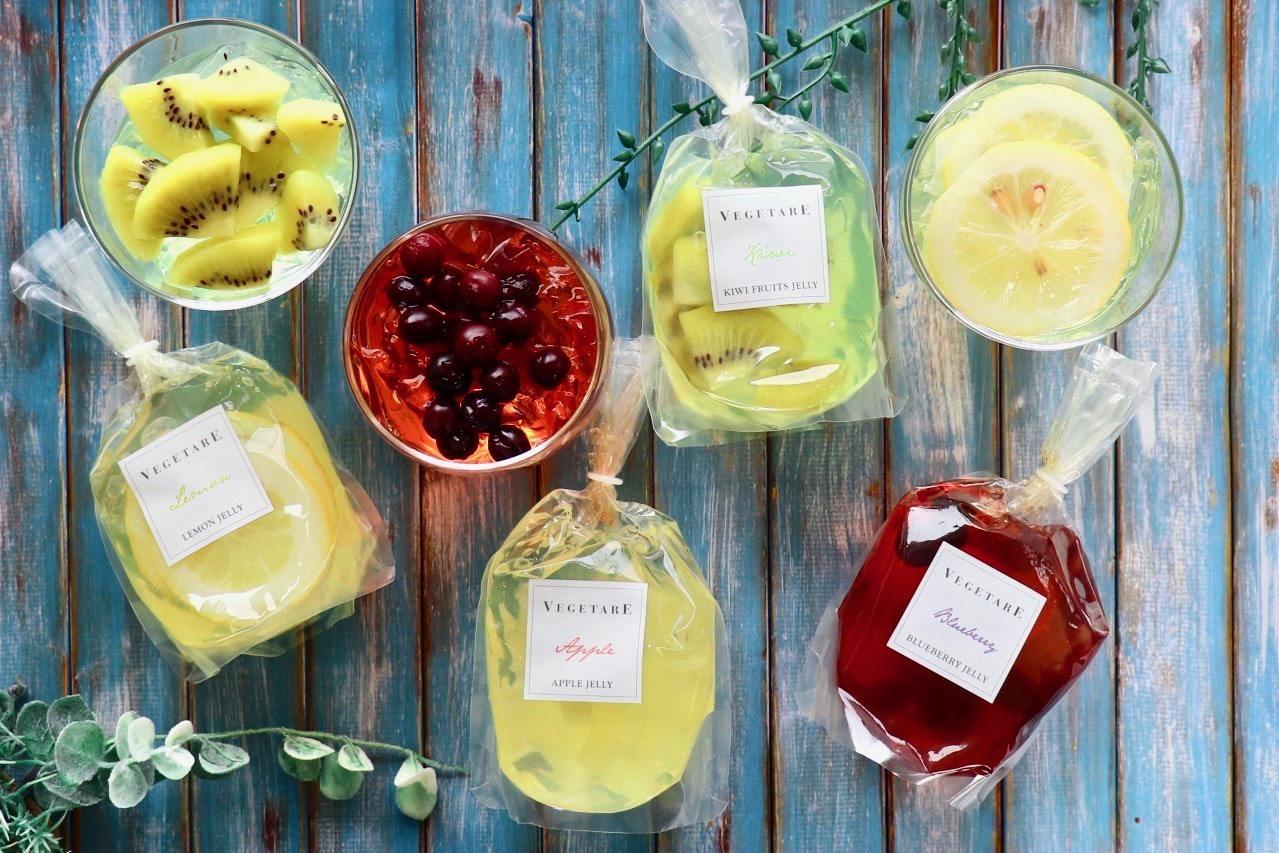 国産の生フルーツを使用した果実感たっぷりゼリー 2019年5月24日(金)新発売!