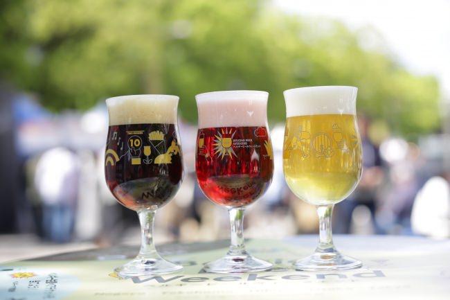 都心でありながら、都会の喧騒や日々の忙しさから開放されたスペシャルな空間でベルギービール片手につかの間の癒しを!  「ベルギービールウィークエンド2019 日比谷」