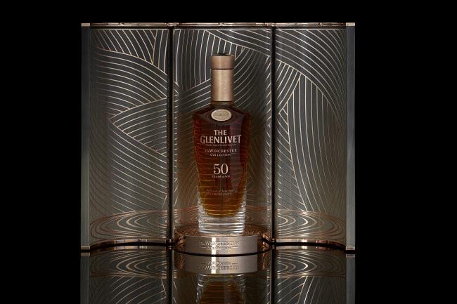 世界で155本、日本で2本のヴィンテージウイスキー  「ザ・グレンリベット ウィンチェスターコレクション50年 ヴィンテージ1967」 (イメージ)