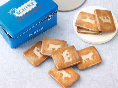 AOP認定 フランス産発酵バター エシレを使った こだわりの焼き菓子を愉しめる専門店  ECHIRE PATISSERIE AU BEURRE 限定 オリジナル缶入り「サブレ グラッセ」新発売