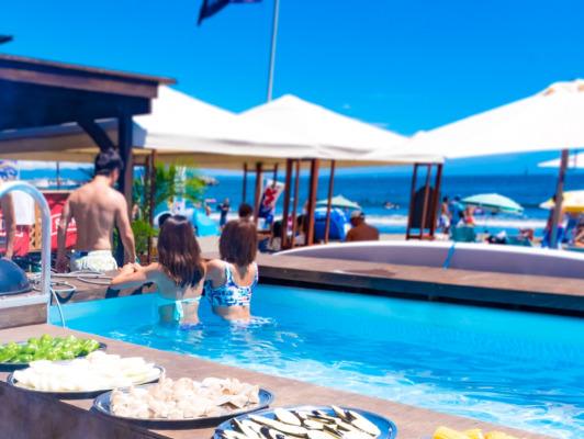 biid(ビード)片瀬東浜海水浴場での海の家ちょっとヨットビーチハウスの2019年夏のオープンと300gステーキバーベキューの予約受付の開始を発表