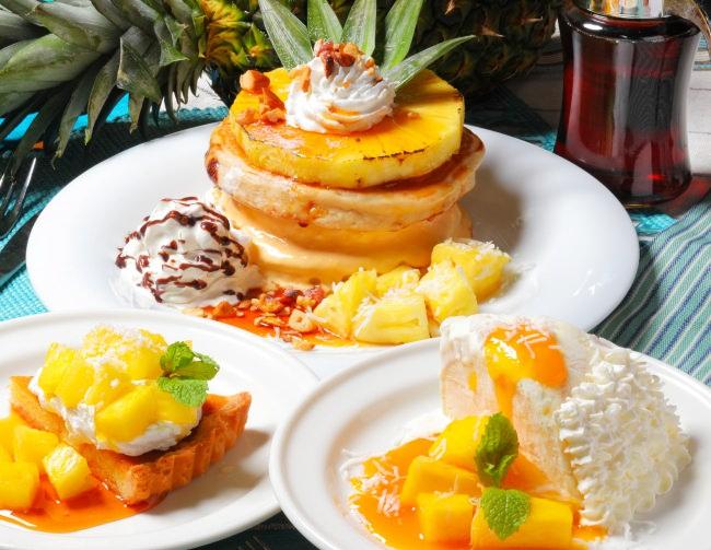 まもなく梅雨明け、夏本番!南国の雰囲気を楽しめるパイナップルフェアをアロハテーブルにて8月1日より開催!ハワイ名物スイ―ツも登場!