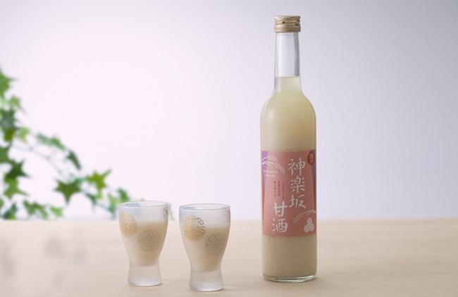 人気No.1の当店オリジナルの神楽坂甘酒