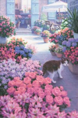 ~犬・猫に癒される風景画~ 笹倉鉄平原画展