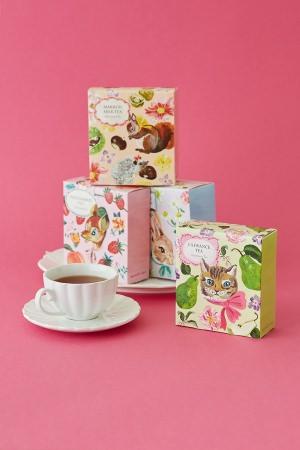 秋の紅茶集合イメージ
