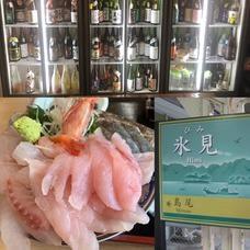 氷見漁港直送鮮魚など約15種類!刺身食べ放題と日本酒飲み放題!時間制限無し持込も自由税込5000円