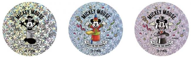 6つの代表作に登場するミッキーマウスが1つのパッケージになった限定デザインコレクションステッカー付き 「ミッキーマウス90周年デザイン バウムクーヘン」10月1日(火)販売開始