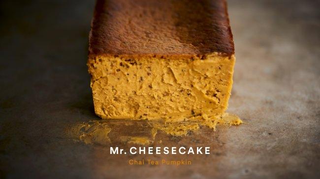 「Mr. CHEESECAKE」よりハロウィン限定フレーバー「Chai Tea Pumpkin」が登場