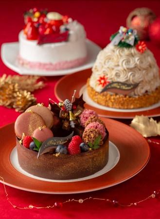 【浅草ビューホテル】クリスマスパーティーを彩る6種類のクリスマスケーキを10月22日(火)より予約スタート!